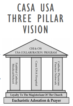 Casa USA Three Pillar Vision